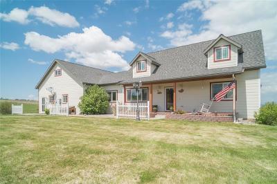 Manhattan Single Family Home For Sale: 548 Dan Road
