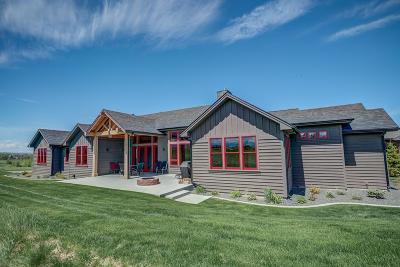 Bozeman Single Family Home For Sale: 130 Black Bull Trail