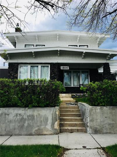 Butte MT Single Family Home For Sale: $199,000