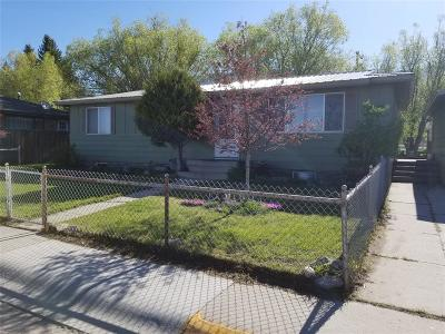 Butte MT Single Family Home For Sale: $158,000