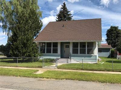 Butte MT Single Family Home For Sale: $215,000