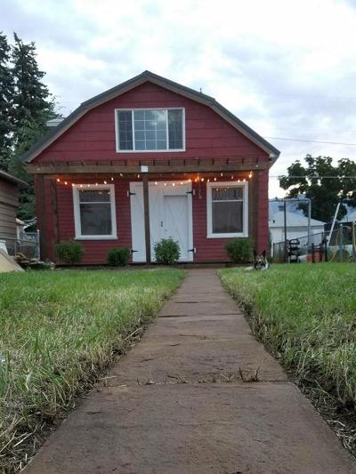 Butte Single Family Home For Sale: 1642 S Warren
