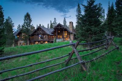Big Sky Single Family Home For Sale: 64 Lodgepole Lane