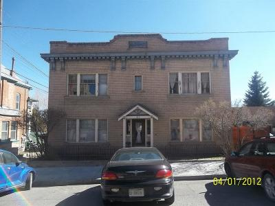 Butte Multi Family Home For Sale: 312 W Silver