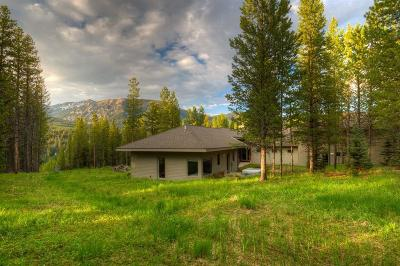 Big Sky Single Family Home For Sale: 214 W Pine Cone Terrace