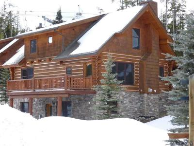 Big Sky Single Family Home For Sale: 1b Red Cloud Loop