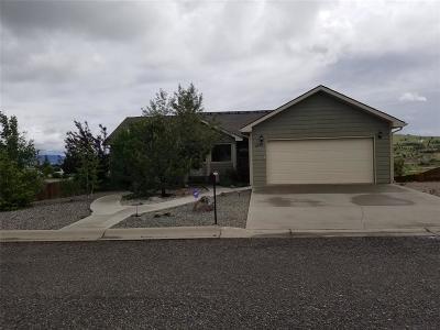 Butte Single Family Home For Sale: 1220 W Britania Boulevard W