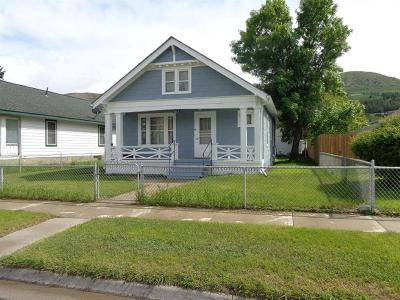 Anaconda Single Family Home For Sale: 811 W 3rd
