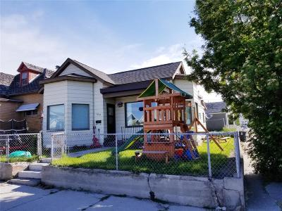 Butte MT Single Family Home For Sale: $105,000