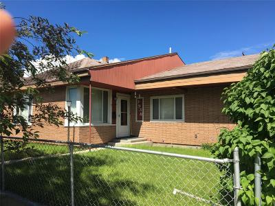 Butte MT Single Family Home For Sale: $120,000