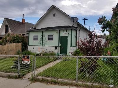Butte Single Family Home For Sale: 511 W Quartz