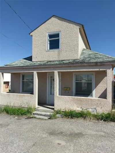 Butte Single Family Home For Sale: 39 W Center