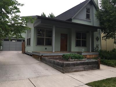 Bozeman Single Family Home For Sale: 4233 Benepe Street