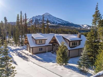 Big Sky Single Family Home For Sale: 22 Ulerys Lakes Road