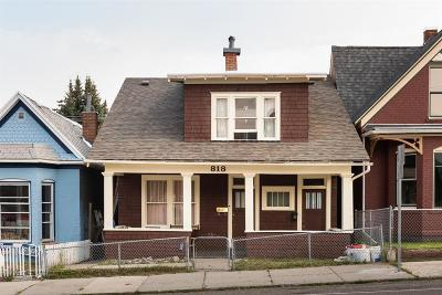 Butte MT Single Family Home For Sale: $160,000