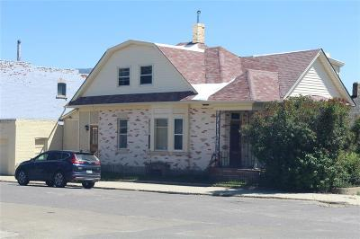 Butte MT Single Family Home For Sale: $129,500