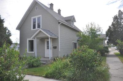 Dillon Single Family Home For Sale: 238 S Pacific