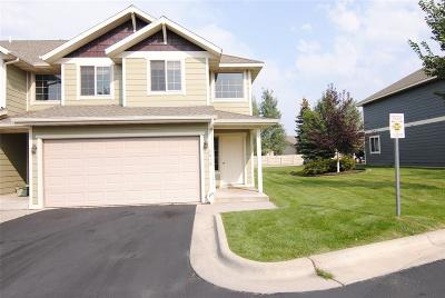 Bozeman Condo/Townhouse For Sale: 4018 Broadwater #B