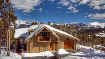 Big Sky Single Family Home For Sale: 1 Hidden Trail