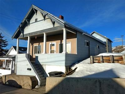 Butte MT Single Family Home For Sale: $60,000