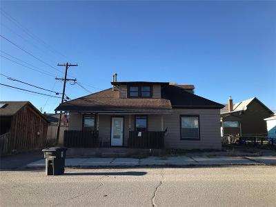 Butte MT Single Family Home For Sale: $83,000