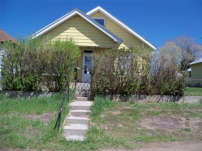 Single Family Home For Sale: 2213 Walnut St.