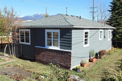 Bozeman Single Family Home For Sale: 824 N 3rd