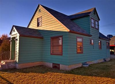 Butte MT Single Family Home Sold: $147,000