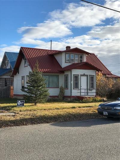 Dillon Single Family Home For Sale: 335 W Reeder Street
