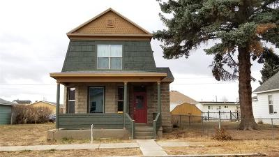 Butte Single Family Home For Sale: 1725 Whitman