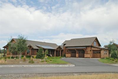 Bozeman Single Family Home For Sale: 509 Tillyfour Road