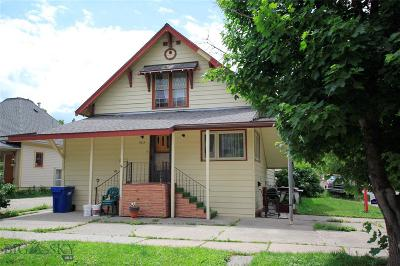 Bozeman Multi Family Home For Sale: 503 & 503 1/2 S Black Avenue