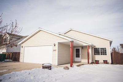 Bozeman Single Family Home For Sale: 2607 Rose Street