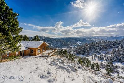 Bozeman Single Family Home For Sale: 485 Nixon Peak Road
