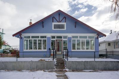 Butte MT Single Family Home For Sale: $175,000