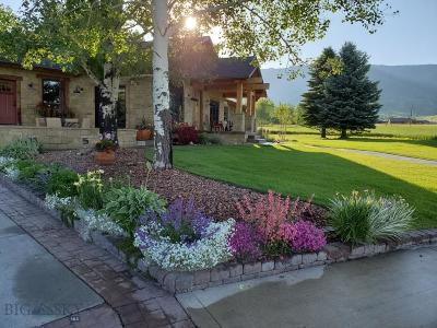 Bozeman Single Family Home For Sale: 5000 Bostwick Road