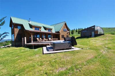 Bozeman Single Family Home For Sale: 4523 Woodchuck