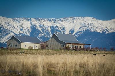 Belgrade Single Family Home For Sale: 1050 Theisen Ranch