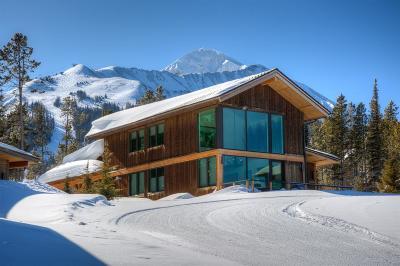 Big Sky Single Family Home For Sale: 4 Silver Peaks Drive