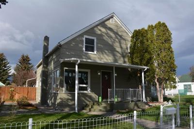 Bozeman, Belgrade, Big Sky, Livingston, Manhattan, Three Forks, Willow Creek, Churchill Single Family Home For Sale: 312 S F Street