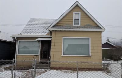 Butte Single Family Home For Sale: 1636 Harrison Avenue