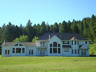 Bozeman Single Family Home For Sale: 16530 Brackett Creek Road