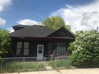 Butte MT Single Family Home For Sale: $69,000