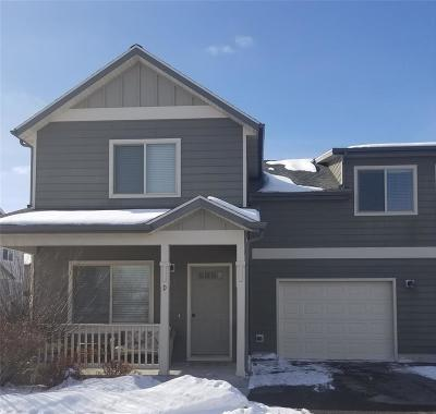 Bozeman Condo/Townhouse For Sale: 104 Covey Court #D