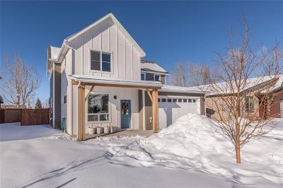 Bozeman Single Family Home For Sale: 25 Ramshorn Peak Lane
