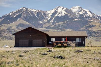 Livingston Single Family Home For Sale: 62 Mule Deer Road