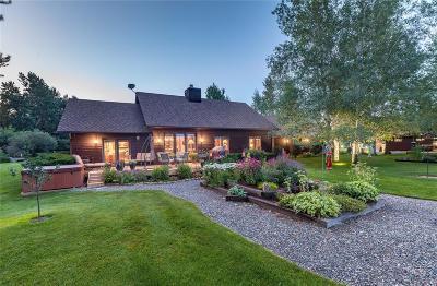 Bozeman Single Family Home For Sale: 4 Mallard Lane