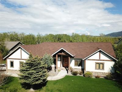 Bozeman Single Family Home For Sale: 4344 Morning Sun Drive