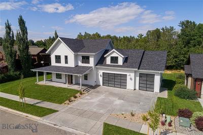 Bozeman Single Family Home For Sale: 1225 Pinnacle Star Street