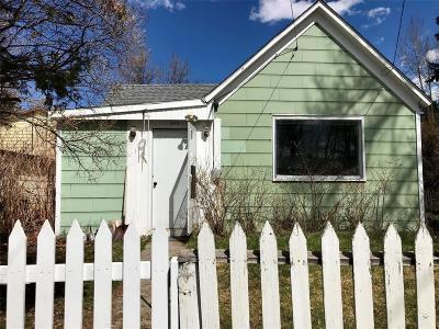 Bozeman Single Family Home For Sale: 309 E Beall Street